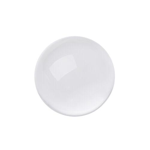 Clear Crystal Ball 10cm//8cm Photography Glass Lens Sphere Ball Photo Decoration