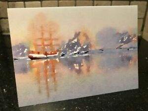 "Greetings Card - ""Sailing Through Antarctic Waters"" #ReQuest2021"
