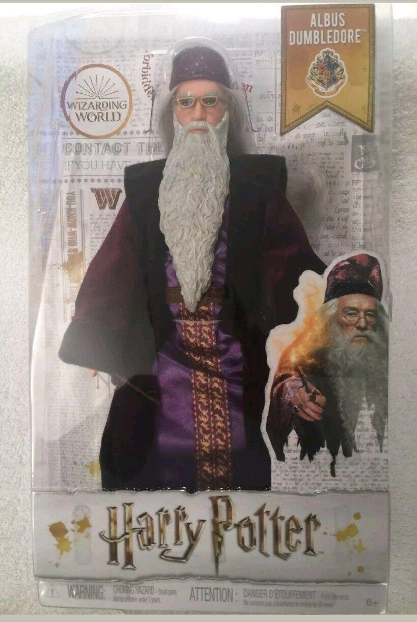 Harry Potter ALBUS DUMBLEDORE Wizarding World Doll Mattel New New New 5a9df2