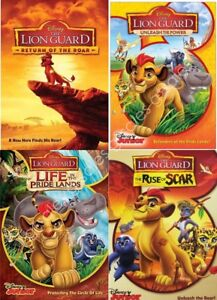 The Lion Guard Lion King Spin Off Tv Series Complete Volumes 1 4 New Dvd Set Ebay