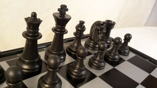 Magnetisches Schachspiel Backgammon 32x32 cm Schach Dame