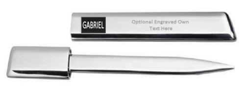 Gabriel Gravierte Brieföffner Optionalen Text Bedruckt Name