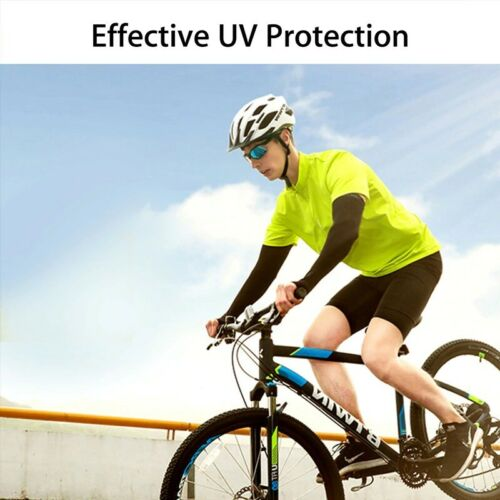 1 Pair Cooling Arm Sleeves Cover Unisex Cycling Running UV Sun Protection SPORTS
