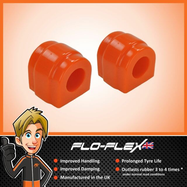 BMW E46 24mm Front Anti Roll Bar Bushes in Poly Polyurethane Flo-Flex
