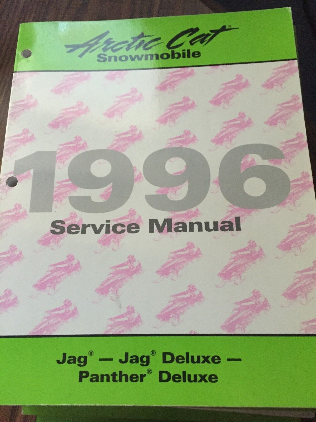 1996 Arctic Cat Jag, Jag Deluxe,  Panther Deluxe Service Manual PN 2255-306  wholesale