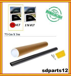 Lamina-Solar-Para-Cristal-Del-Coche-75x300cm-Homologado-5-Muy-Oscuro-Universal