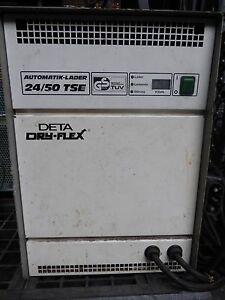 Ladegeraet-24-50-TSE-Deta-Batterieladegaraet-Stapler-Dry-Flex-Automatik-Lader