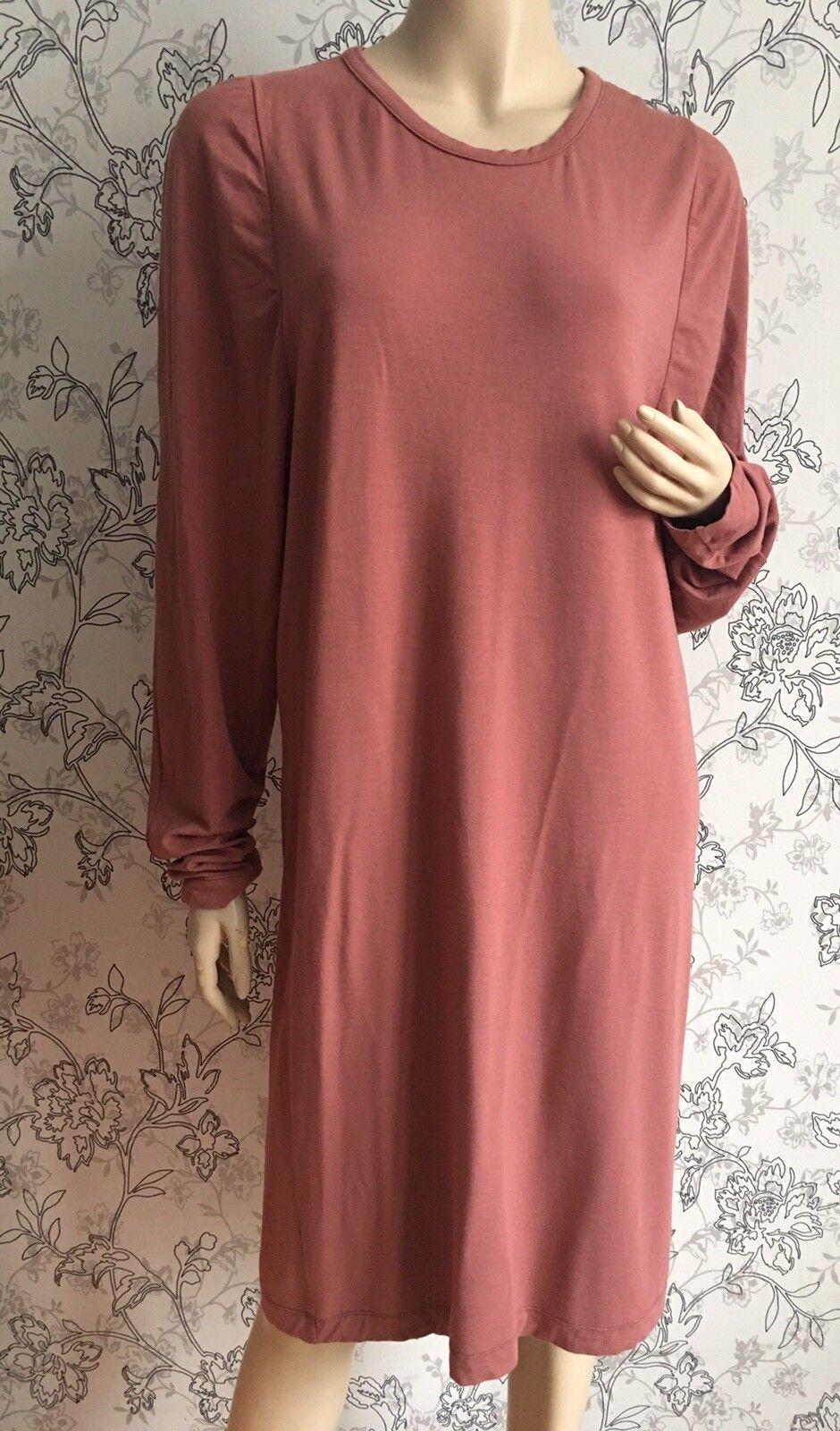 MAISON MARTIN MARGIELA 1 Wool Blend Long Sleeve Dress sz IT 46 EUC