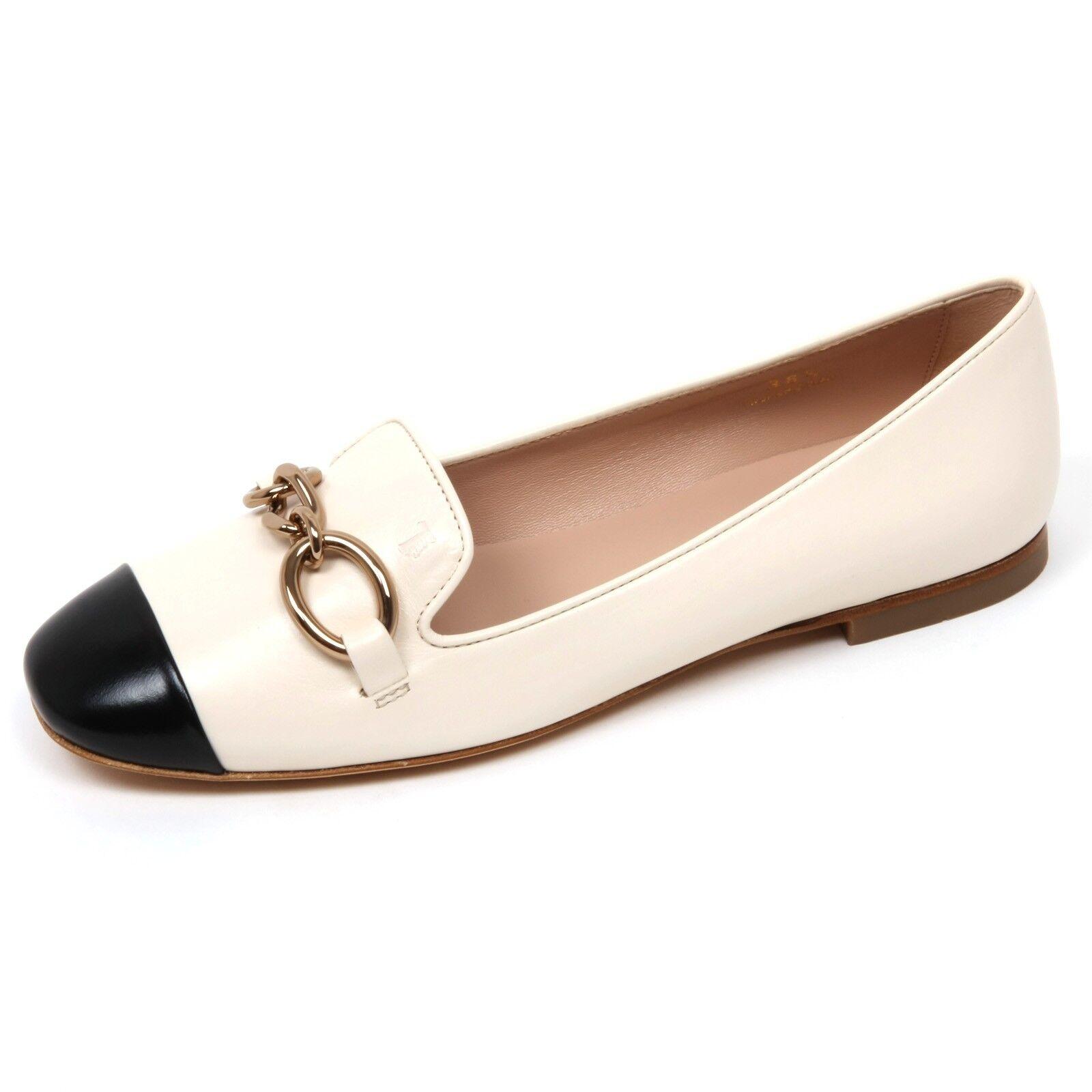 fino al 50% di sconto C9082 ballerina donna TOD'S scarpa avorio nero scarpe scarpe scarpe Donna ivory nero  promozioni di squadra