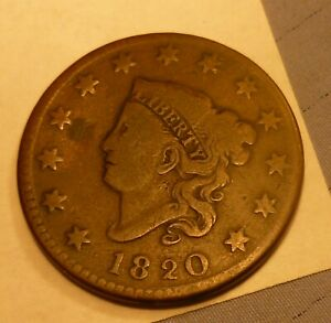 1820 Large Cent   #AA20 better grade