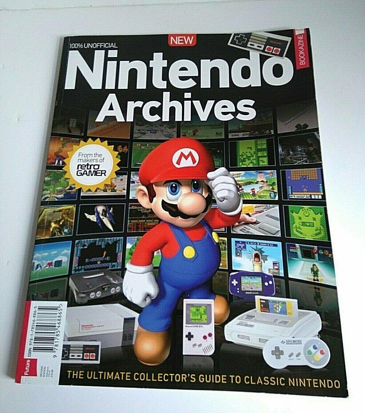 Retro Gamer Nintendo Archives Classic Collectors Guide Second Edition  Bookazine