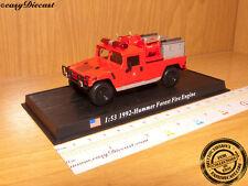 FIRE TRUCK 1:53 HUMMER FOREST FIRE ENGINE USA 1992 CAR