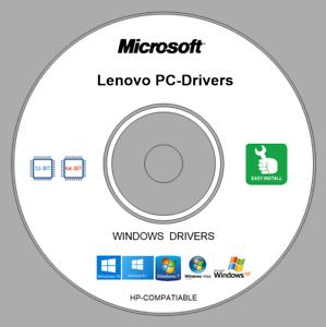 Details about Repair Restore Computer LENOVO DRIVERS DVD - Windows XP Vista  7 8 10 32/64 bit