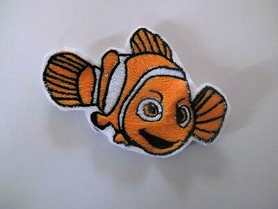 Finding Nemo Squirt sew on motif for Knitting//Sewing//Crafts and card making