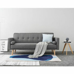 Phenomenal Details About Panana Modern Fabric 2 3 Seater Sofa Bed Sofabed Scandi Style 3 Colors Beutiful Home Inspiration Cosmmahrainfo