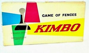 Kimbo-Board-Game-Vintage-Strategy-Game-of-Fences-Waddingtons-1960-039-s-Complete