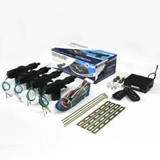 Universal Car 4 Doors Central Lock Unlock System Keyless Entry Kit With Actuator