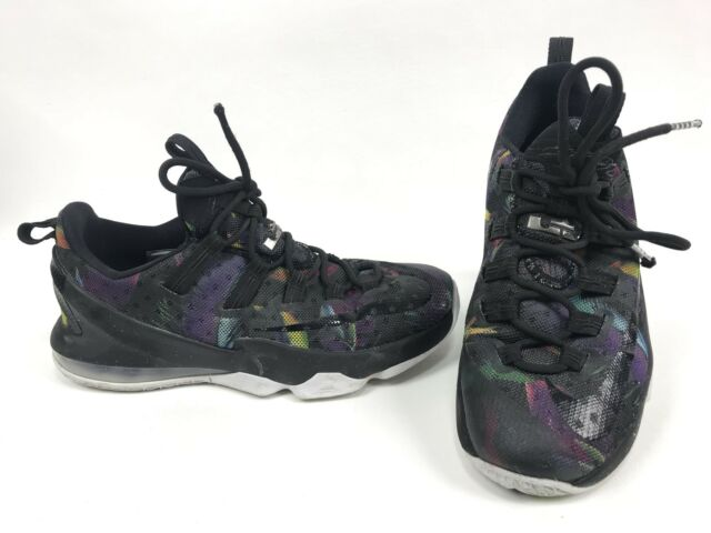 new style 1cc9e 9db26 Nike Air Zoom Max LeBron James 13 Mens Size 8 Low Birds Of Prey Black  831925-051