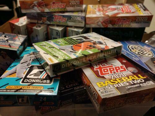 ? Baseball Hobby Pack + Auto/Relic/# + 20 Cards + BONUS HR Mystery Card Box Lot