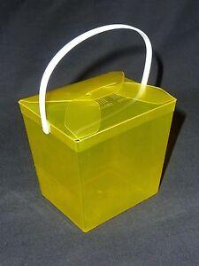 Coloured Party plastic loot boxes//noodle boxes