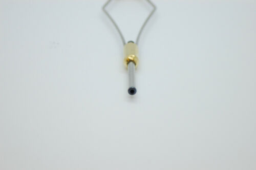 FLY FISHING BULLET BOBBIN HOLDER WITH TITANIUM BEADS FOR FLY TYING