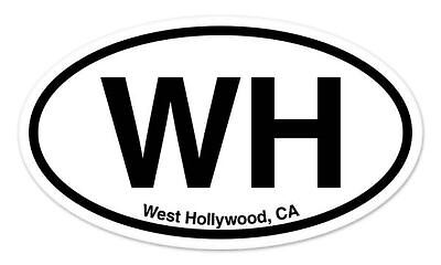 "SV Simi Valley California Oval car window bumper sticker decal 5/"" x 3/"""