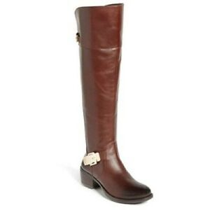 Vince Camuto 'Bocca 2' Over the Knee Women's Boot Chestnut black SZ 6M new