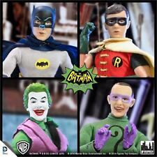 BATMAN 1966 TV SERIES 1; SET OF 4; 8 INCH MEGO STYLE FIGURES POLYBAG NEW