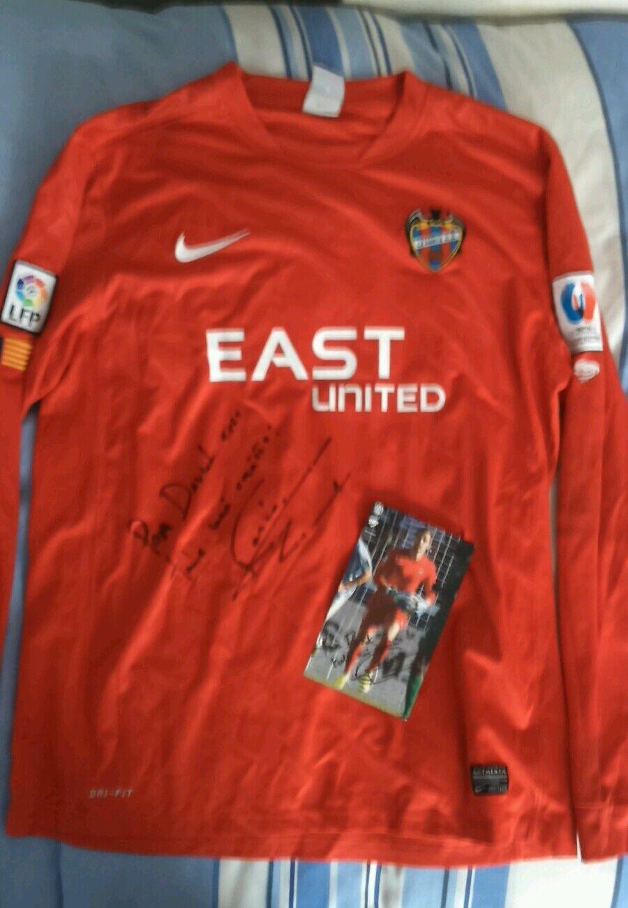 Camiseta usada match worn portero Levante Jesus Fernandez 15 16
