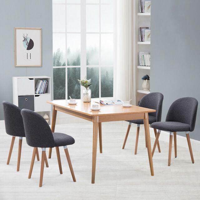 Dining Chairs Set Of 4 Modern Velvet