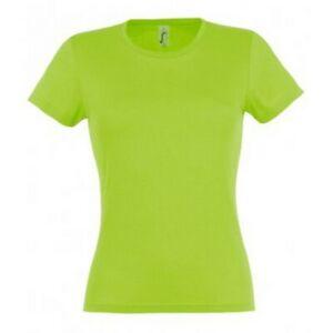 SOLS Miss - T-shirt uni à manches courtes - Femme (S-2XL) 19 couleurs (PC289)