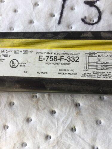 SOLA E-758-F-332 GENIUNE Replacement