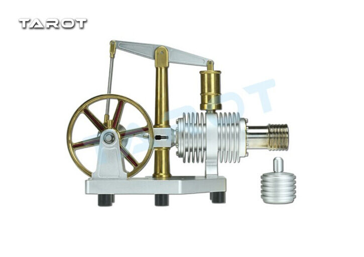 Tared Hot Air Stirling Engine Micro Generator Model Education Toys TL2962