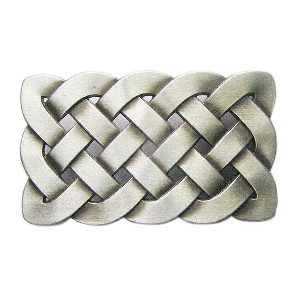 Celtic Knot I Gürtelschnalle Keltisch Kelten Keltischer Kreuz Keltenknoten