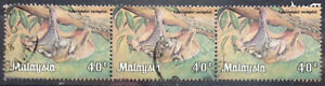 Malaysia Used Stamp - 3 pcs 1979 40 cents Animals Stamp - Flying Lemur