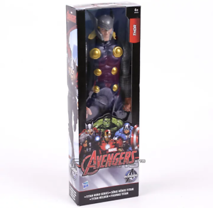 Thor 30 cm figura marvel vengadores dios de trueno muñecos superheroes CON CAJA