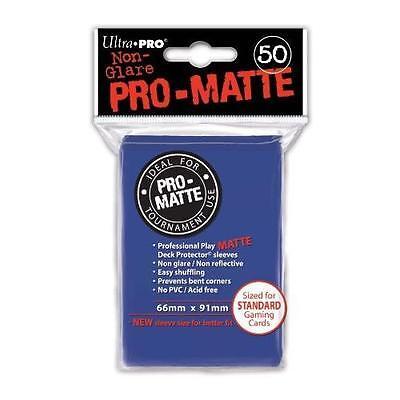 Competente Ultra Pro Pro-tappetino Sleeves/custodie Blu (50 Pz.)-mostra Il Titolo Originale Materiale Selezionato
