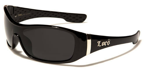 Designer Large Wrap Locs Sunglasses Childrens Kids Boys Girls Black Retro
