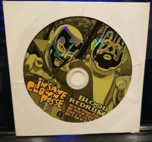 Insane-Clown-Posse-Blood-Redrum-Hallowicked-2006-CD-rare-twiztid-dark-lotus