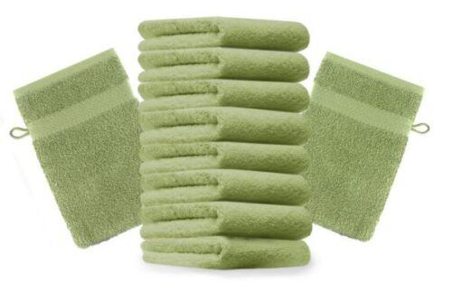 BETZ 10 pièces laver Gants gant de toilette Premium 16x21 cm 100/% coton