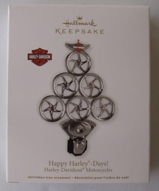 Hallmark 2011 Happy Harley Days Tree Davidson Motorcycle Christmas Ornament - Hallmark Harley Davidson Ornaments Collection On EBay!