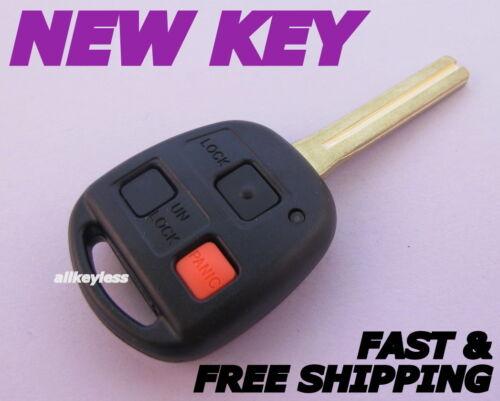OEM LEXUS RX300 keyless entry remote fob transmitter NI4TMTX-1 NEW KEY SHELL