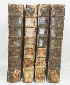 TRES-RARE-OPERUM-POSTUMORUM-JACQUES-CUJAS-4-TOMES-DROIT-ROMAIN-1658