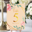 Personalised-Floral-Theme-Wedding-Table-Numbers-Name-Place-Cards-A5-A6-A7 thumbnail 10