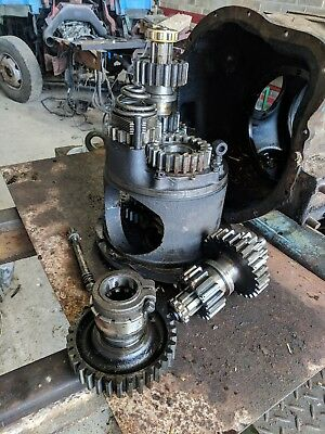 PINION GEAR REMOVED FORDSON POWER MAJOR REAR TRANSMISSION
