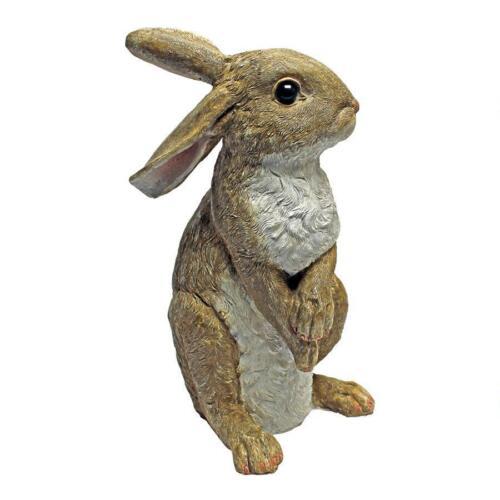 Bunny Rabbit Hop To It Hare Statue Spring Garden Sculpture