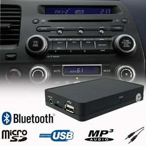 Car Bluetooth USB SD MP3 Music Player Adapter Interface Honda CRV CRZ FRV S2000