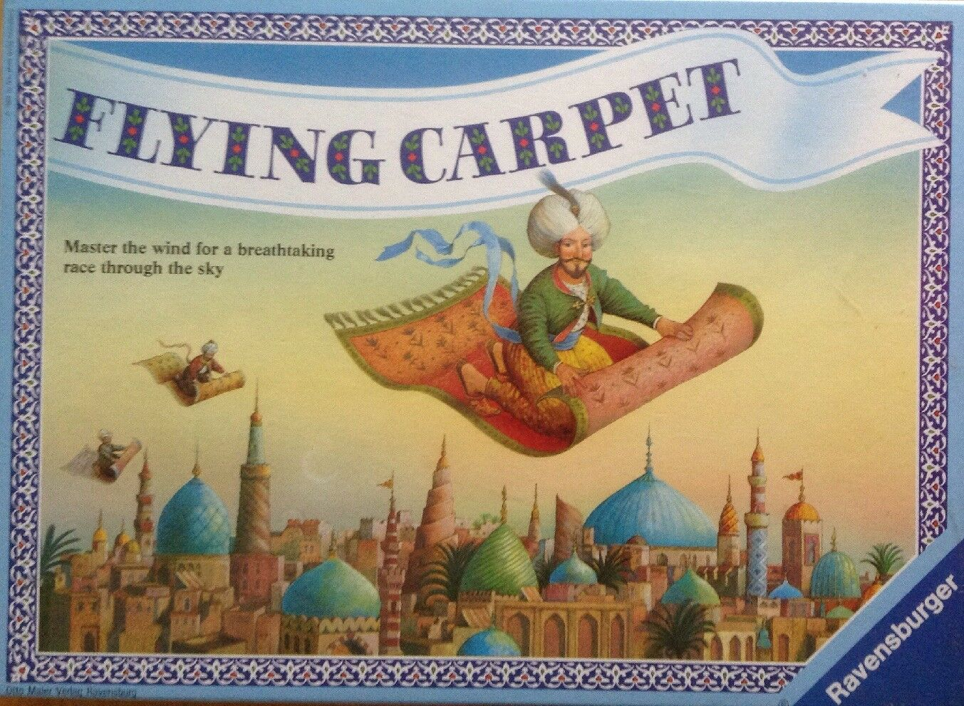 FLYING CARPET GAME VINTAGE RARE NEW SEALED 3-6 PLAYERS AGE 12+ BY RAVENSBURGER