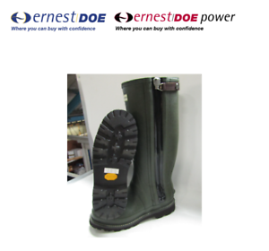 Hunter Balmoral Flex Zip Sovereign Wellingtons MFT9062RMI Dark Olive
