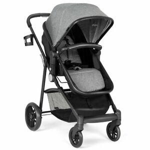 2 In 1 Foldable Baby Stroller Kids Travel Newborn Infant ...